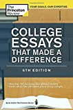 College Essays That Made a Difference (College Admissions Guides)