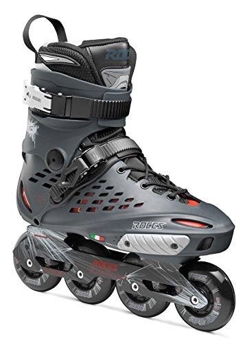 Roces X35 Inline Skate Unisex, Unisex - Adulto, Carbón/Rojo, 43