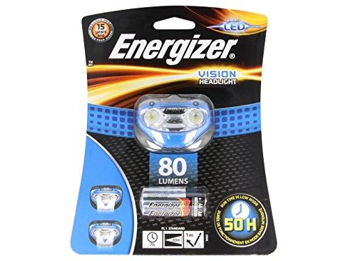 HEADLIGHT-VISION Torch LED headtorch 7h 80typlm A kit consists of (Energizer Kit)