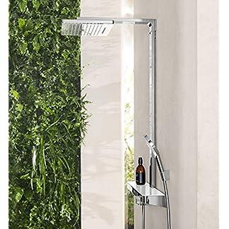 Hansgrohe Rainmaker Select sistema de ducha, tipos de chorro