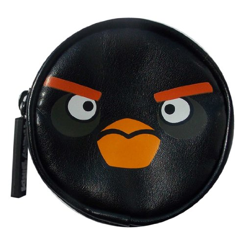 Image of Angry Birds Black Coin Purse