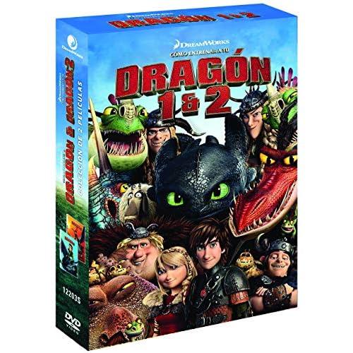 Pack: Cómo Entrenar A Tu Dragon 1-2 [DVD] 2
