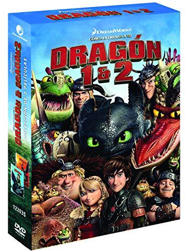 Pack: Cómo Entrenar A Tu Dragon 1-2 [DVD]