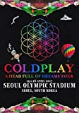 Generic Coldplay Seoul Olympic Stadium - 15/16 April 2017 Foto Poster CD Tour 078 (A5-a4-a3) - A4