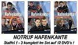 Notruf Hafenkante, Vols. 1-3: Folgen 1-39 (12 DVDs)