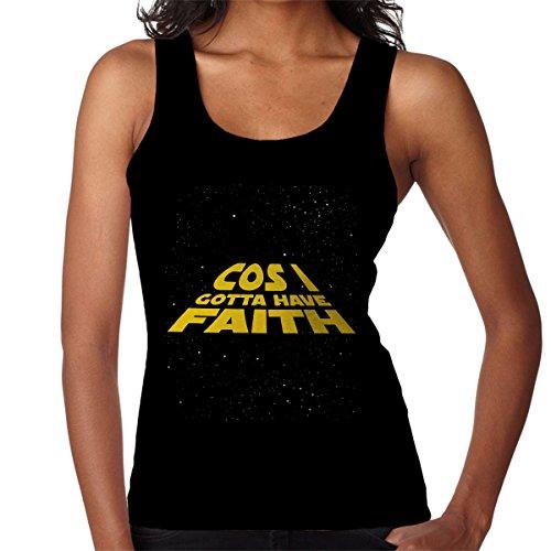 Star Wars George Michael Cos I Gotta Have Faith Women's Vest Black