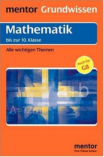 Buchseite und Rezensionen zu 'Mentor Grundwissen, Mathematik' von Theo Waibel