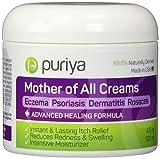 Puriya Mother of All Creams - Creme mit wirksamen natürlichen Inhaltsstoffen - 13-in-1-Rezeptur gegen Ekzeme, Psoriasis, Rosazea, Dermatitis, Gürtelrose & Ausschläge - 4.5oz (133ml)