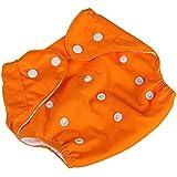 Pañal Ajustable De Tela Lavables Reutilizables Para Bebé #8