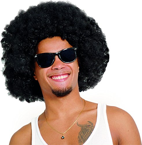 Ciao Parrucca Afro, Nera