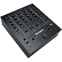 Numark M6 USB Black - Mezclador USB de 4 canales para DJ