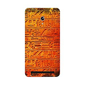 Skintice Designer Back Cover with direct 3D sublimation printing for Asus Zenphone 6