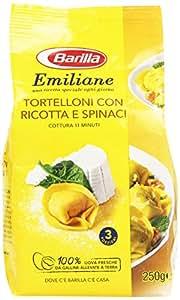 Barilla - Emiliane, Tortelloni con Ricotta e Spinaci - 250 g