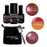 Best So Beauty gel vernis à ongles - KIT 3 VERNIS GEL POLISH MEANAIL® Paris • Review