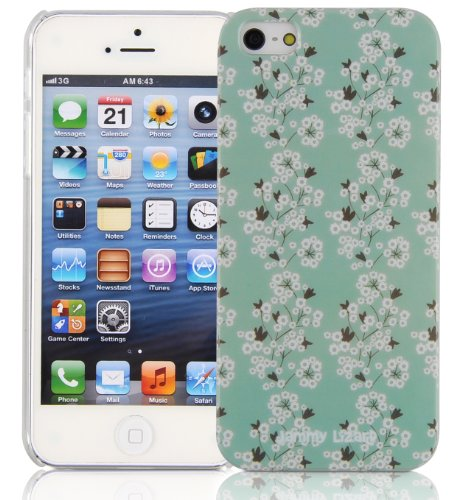 JAMMYLIZARD | Custodia Floreale per iPhone 5 e 5s e iPhone SE Floreale - MARGHERITE