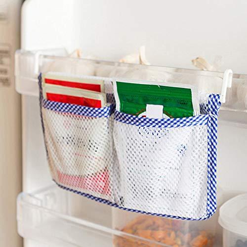 BFHCVDF Borsa portaoggetti portaoggetti Frigorifero Creativo Portaoggetti portaoggetti Organizer per Alimenti Blu