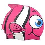 Spokey Rybka Kinder Badekappe, Spokey Fisch, 87469 rosa