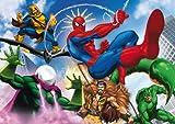 Clementoni - Puzzle con diseño de Spiderman, de 250 piezas (29621)