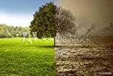 druck-shop24 Wunschmotiv: Umweltzerstörung #187359041 - Bild auf Leinwand - 3:2-60 x 40 cm / 40 x 60 cm