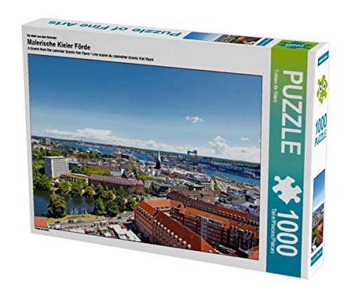 Preisvergleich Produktbild Ein Motiv aus dem Kalender Malerische Kieler Förde 1000 Teile Puzzle quer (CALVENDO Orte)