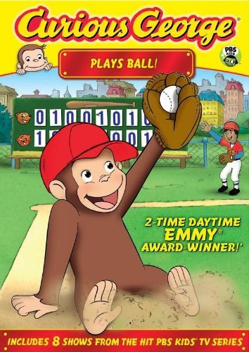 Curious George Plays Ball! by Frank Welker (Curious George-dvd)