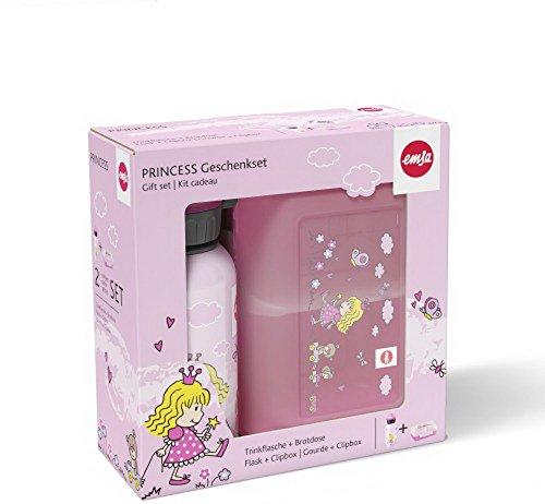 Produktbild Emsa Kinderset Trinkflasche & Brotdose Princess
