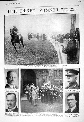 GOLF 1925 DI AMUNDSEN DI BAIRD PLUMER HULTON LLOYD YPRES DELLA MANNA DI CORSA DI CAVALLI DI DERBY
