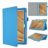 IVSO Asus Zenpad 3S 10 Cover Custodia - Slim-Book Case Custodia Protettiva in pelle PU per Asus Zenpad 3S 10 Z500M Tablet, Blu