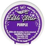 Rainbow Dust Glitzerpulver essbar lila/violett, 1er Pack (1 x 5 g)