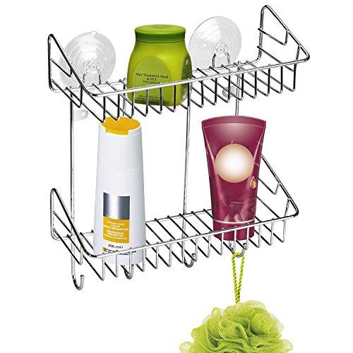artmoon-klondike-duschregal-duschkorb-duschablage-mit-4-haken-verchromter-stahl