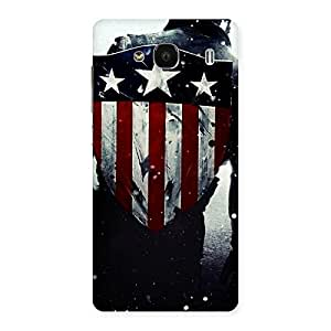 HWC Vintage Star Back Case Cover for Redmi 2 Prime