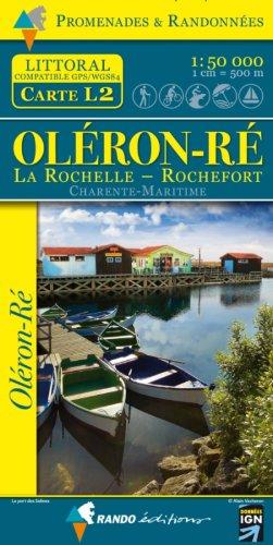 Oléron-Ré - Charente-Maritime GPS/WG884 L2 par Rando Editions