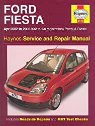 Ford Fiesta Petrol and Diesel Service and Repair Manual: 2002 to 2005 - Does not cover 1.6 diesel (Haynes Service & Repair Manuals) by R. M. Jex (2005-01-19)