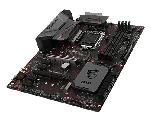 MSI  Z270 Gaming M3 Mystic Light RGB VR Ready Gaming Lan ATX Motherboard - Black (Intel Core i3/i5/i7 Processor, LGA 1151, Dual Channel DDR4, USB 3.1, PCI-E 3.0, PCI-E x1, Sata 6 GB)