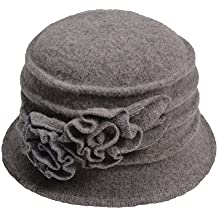 Lawliet Cappello cloche da donna vintage ad97c15835f7