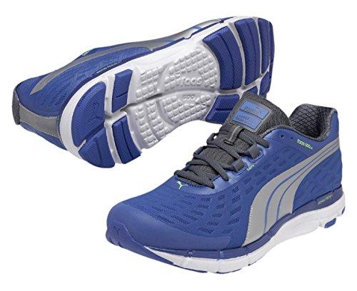 Puma - scarpe da corsa Blau (08 strong blue-puma silver-turbulence)