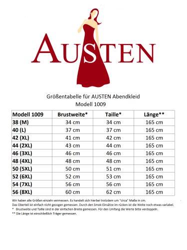 Austen -  Vestito  - linea ad a - Basic - Senza maniche  - Donna Nero