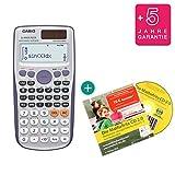 Calculadora Casio FX-991ES Plus con CD de aprendizaje (en alemán)