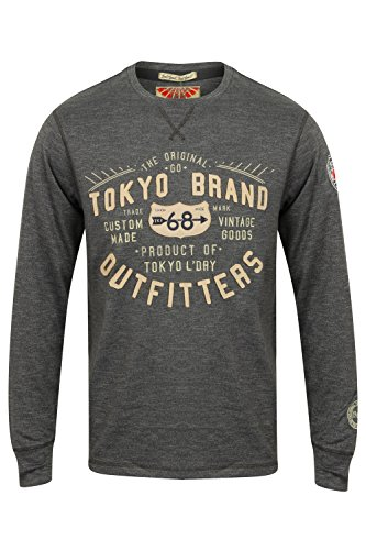 Tokyo Laundry Mens Long Sleeved T-Shirt by Timperley'