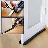 Tochtstopper deurstopper zwart 96cm op maat te snijden
