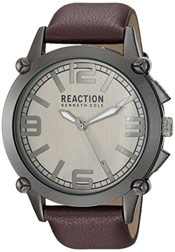 kenneth-cole-reaction-hombre-de-deporte-de-cuarzo-casual-reloj-de-metal-color-marron-modelo-10030947