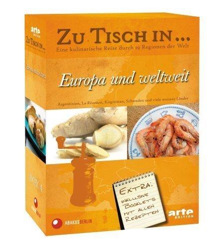 Zu Tisch in... Europa und weltweit (4 DVDs, OF)