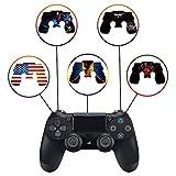 PS4 Dualshock Wireless Controller Pro Konsole Playstation4 mit weichem Griff und Exklusiver individueller Version, Nicht modifiziert