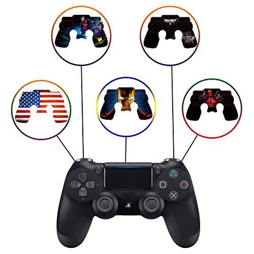 personnalisé PS4DualShock Manette sans Fil Pro Console–Plus récente Playstation4avec Grip Souple et Exclusif personnalisée Version Skin Non-modded