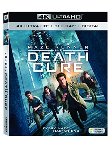 Maze Runner: The Death Cure 4K UHD [Blu-Ray] [Region Free] (Deutsche Sprache. Deutsche Untertitel) (Runner Blu Ray-the Maze)