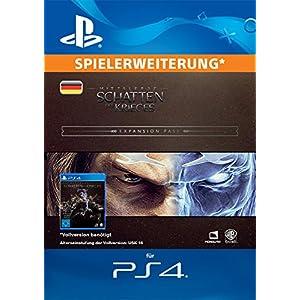 Mittelerde: Schatten des Krieges – Erweiterungspass DLC | PS4 Download Code – deutsches Konto