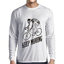 N4525L Camiseta de manga larga Keep Moving