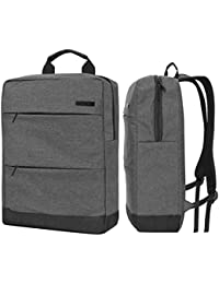 15 Inch Business Travel Laptop Backpack, DMG 14-15.6 Inch College Shoulder Bag With Accessory Pockets, Fits 15...