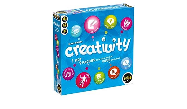 Iello 51183 Creativity Spiel In Französischer Sprache Spielzeug