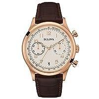 Bulova Classic Vintage 96B234 - Reloj de cuarzo para hombre con cronógrafo negro